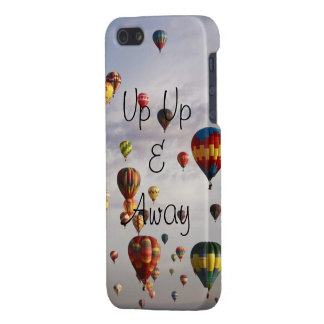 """""""Up Up & Away"""" iPhone Case iPhone 5 Covers"""