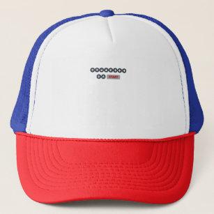 konami code trucker hats zazzle