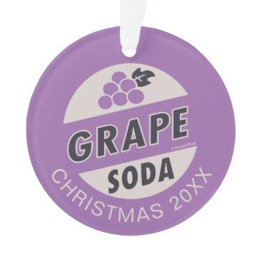Disney Themed Up Wedding | Grape Soda Ornament