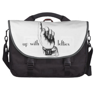up with lefties laptop bag
