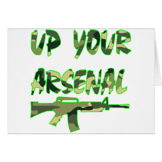 Up Your Arsenal M-4 Carbine Card