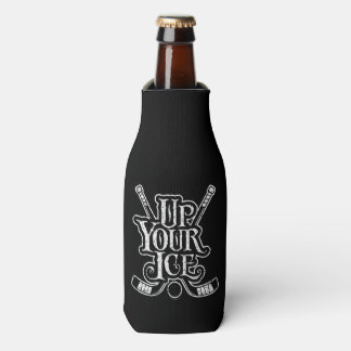 Up Your Ice (Hockey) Bottle Cooler