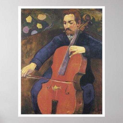 Upaupa Schneklud, 1894 Paul Gauguin Poster