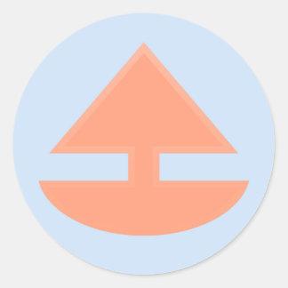 Upboat Stickers