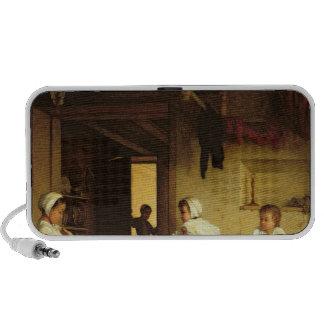 Upbringing, 1867 iPhone speakers