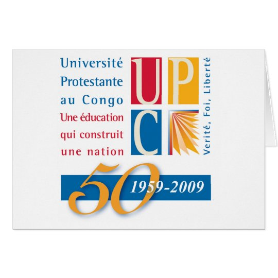 UPC 50th Notecard
