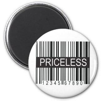 upc Code Priceless Magnet