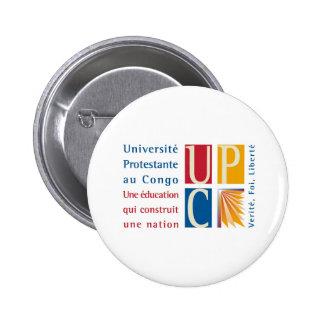 UPC Logo 2 Inch Round Button