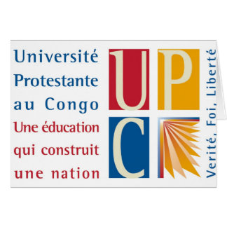 UPC Logo Notecard Greeting Card