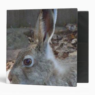 Upclose Rabbit 3 Ring Binder