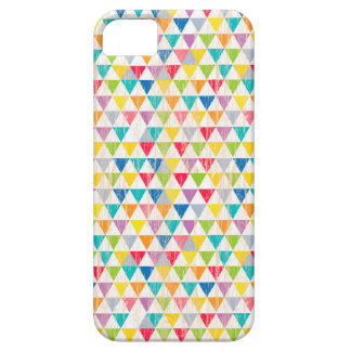 Upcycle Style Rustic Rainbow Triangles Pattern iPhone SE/5/5s Case