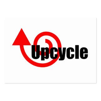upcycle tarjetas de visita grandes
