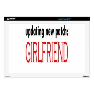 """update patch gamer saturday night date party aweso 17"""" laptop skins"""