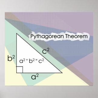 *UPDATED* del teorema pitagórico Impresiones