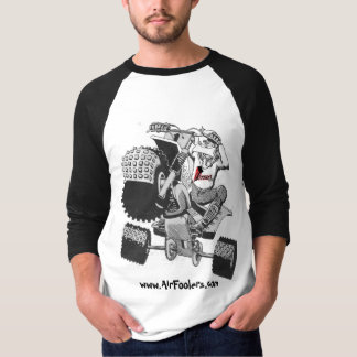 *UPDATED* www.AirFoolers.com Cartoon T-Shirt