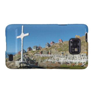 Upernavik Cemetery North West Greenland Panorama Samsung Galaxy S2 Case