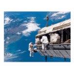 Upgrading the International Space Station Postcard