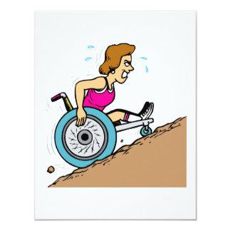Uphill Race Card