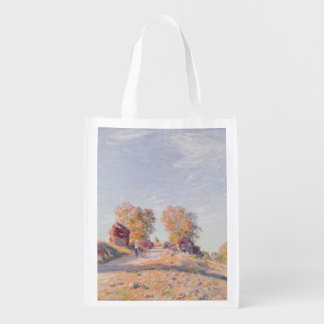 Uphill Road in Sunshine, 1891 Reusable Grocery Bag
