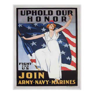 Uphold Our Honor Poster