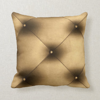 UPHOLSTERED IN GOLD Luxury Grade A Cotton Cushion