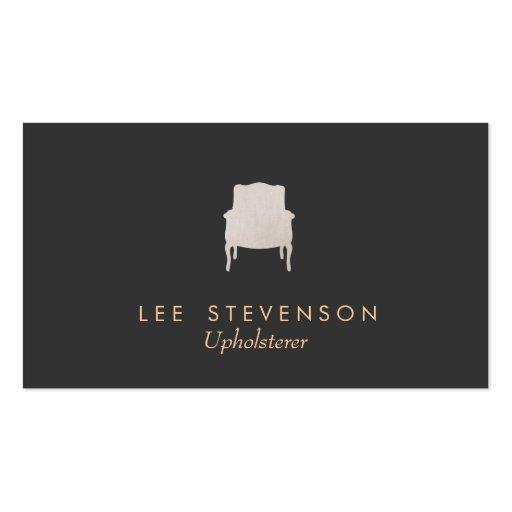 Upholsterer Business Card