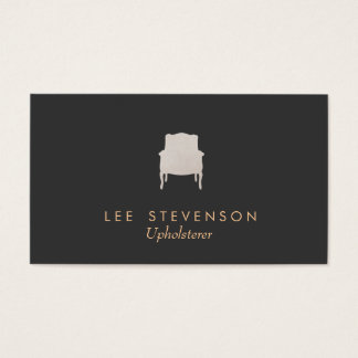 Upholsterer Business Card