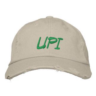 UPI Old Torn Adjustable Hat Embroidered Baseball Cap