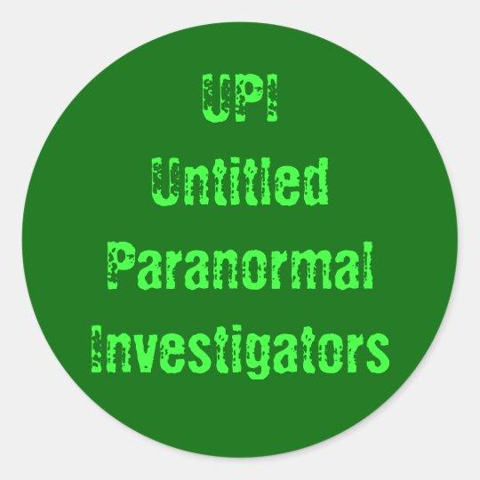 UPI Sticker