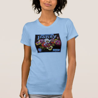 Upland Pansy W's pale blue T-Shirt