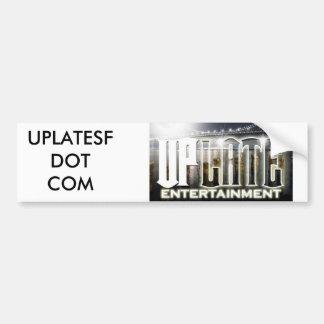 uplatelogo, UPLATESFDOT COM Car Bumper Sticker