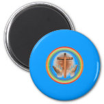 Uplift Your Hands To Christ To Collection Magnet