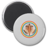 Uplift Your Hands To Christ To Collection Fridge Magnets