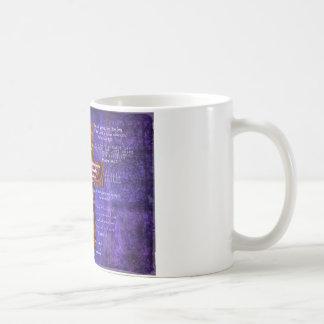 Uplifting Bible Verses about FAITH Coffee Mug