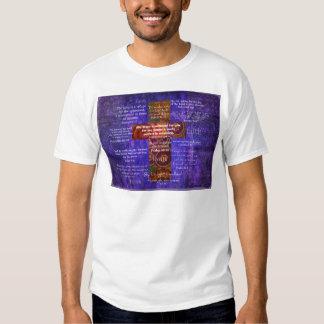 Uplifting Bible Verses about FAITH Tee Shirt