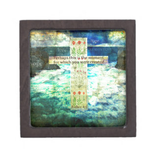 Uplifting Inspirational Bible Verse About Life Jewelry Box