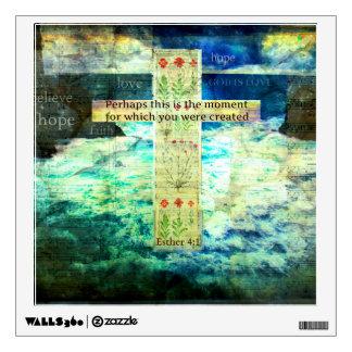 Uplifting Inspirational Bible Verse About Life Wall Sticker