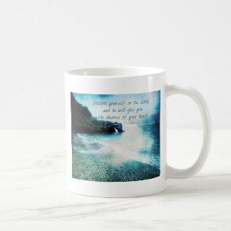 Uplifting Inspirational Bible Verse Psalm 37:4 Coffee Mug