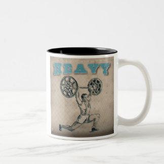 Uplifting Soundtracks Two-Tone Coffee Mug
