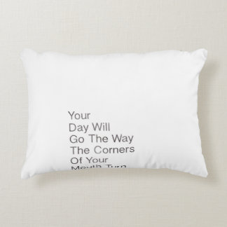Uplifting, sweet and functional accent pillow