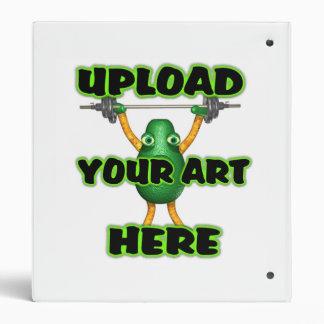 Upload art templates by Valxart.com 3 Ring Binder