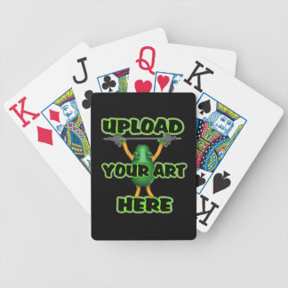 Upload art templates by Valxart.com Bicycle Playing Cards