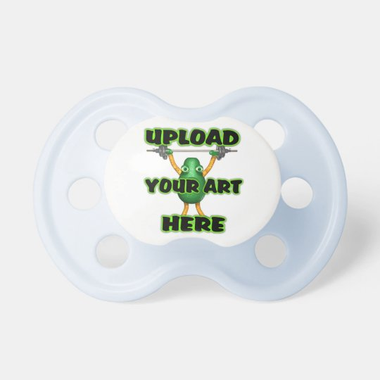 Upload art to Baby Pacifer Pacifier