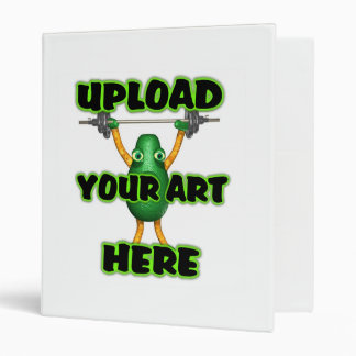 Upload art to customized items 3 ring binder