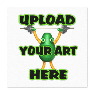 Upload art to customized items canvas print