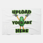 Upload art to customized items hand towels