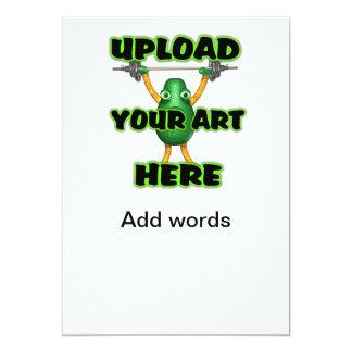 Upload art to invitation 4x8 in