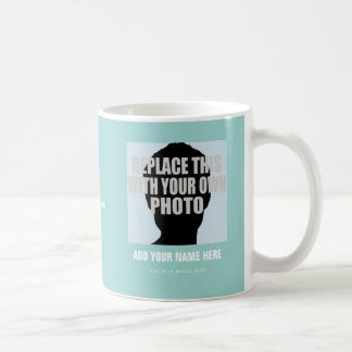 upload image (self picture), create photo coffee mug
