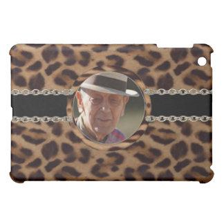 Upload photo to leopard skin chain illusion cover for the iPad mini