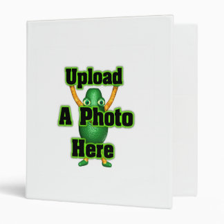 Upload photo to Valxart templates 3 Ring Binder